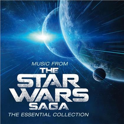 Robert Ziegler & John Williams (*1932) (Komponist/Dirigent) - Music From The Star Wars Saga: Essential Collection (Limited, Music On Vinyl, Yellow Vinyl, LP)