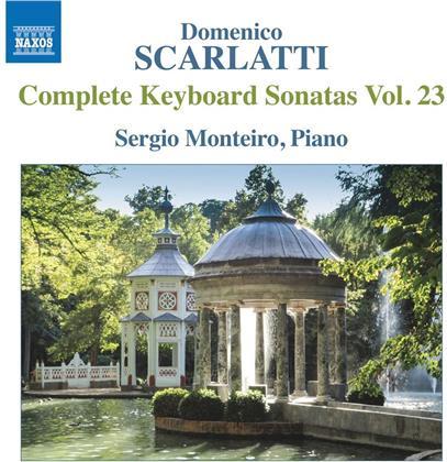 Domenico Scarlatti (1685-1757) & Sergio Monteiro - Keyboard Sonatas Vol. 23