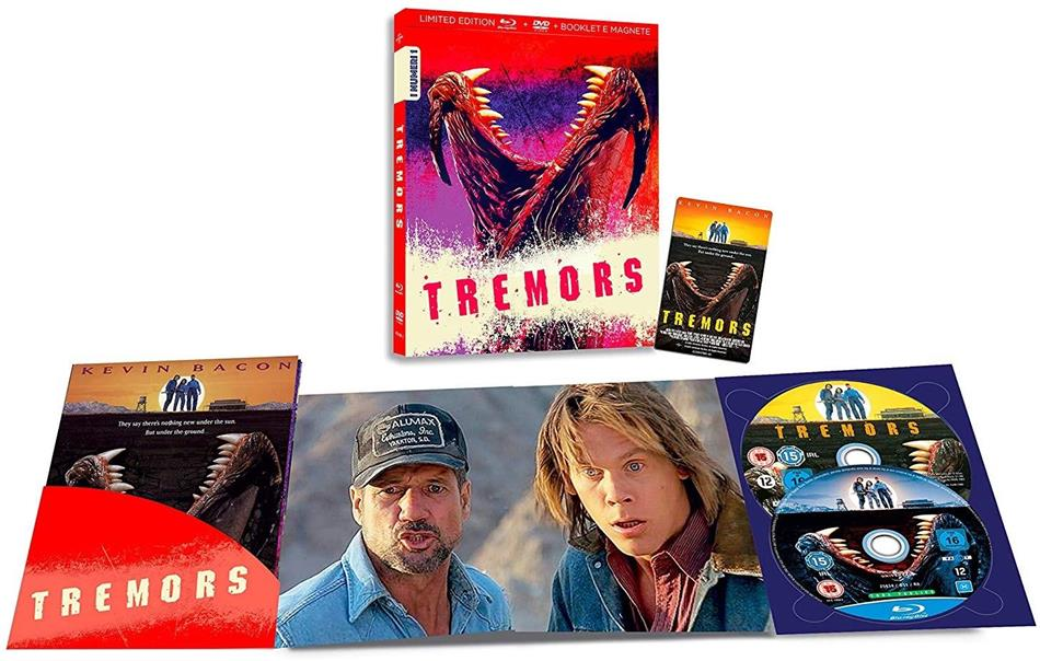 Tremors (1990) (I Numeri 1, Limited Edition, Blu-ray + DVD)