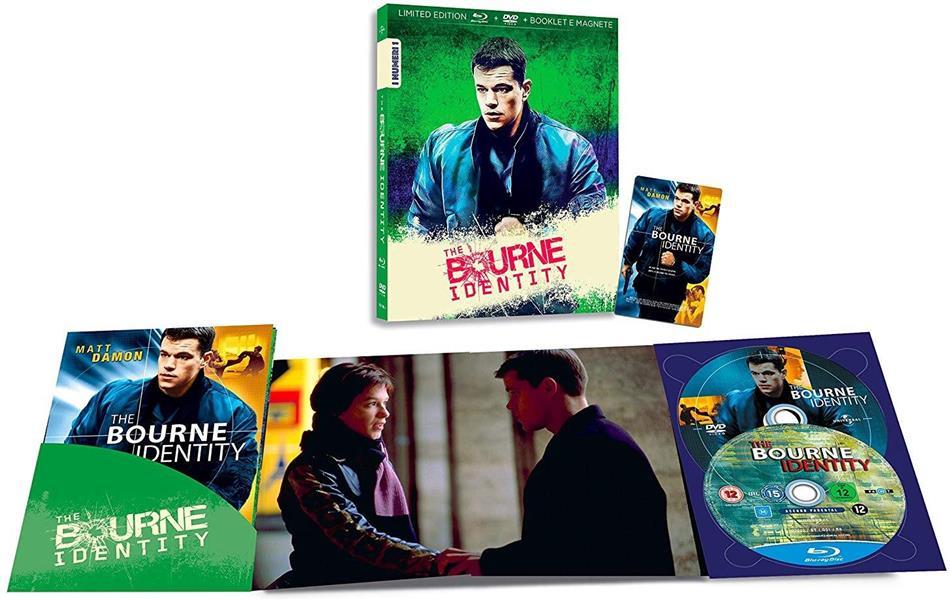 The Bourne Identity (2002) (I Numeri 1, Edizione Limitata, Blu-ray + DVD)