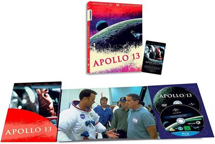 Apollo 13 (1995) (I Numeri 1, Limited Edition, Blu-ray + DVD)