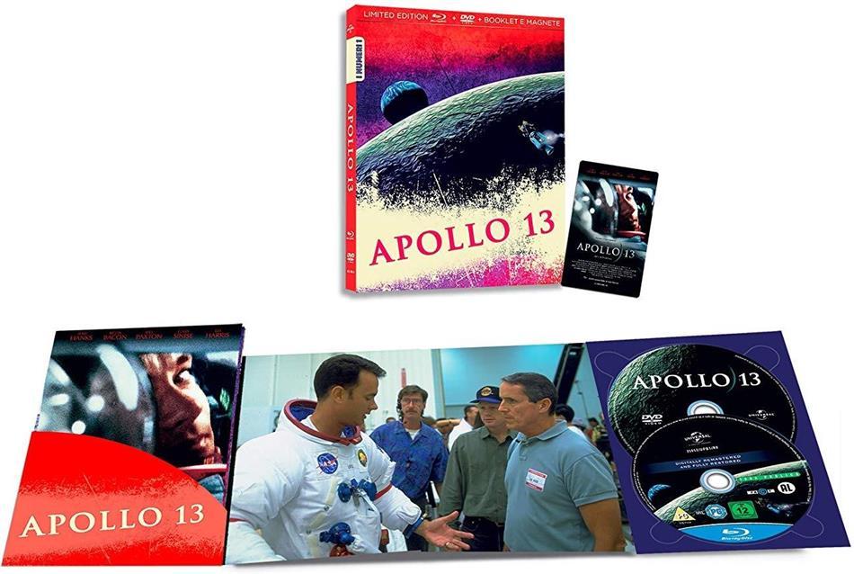 Apollo 13 (1995) (I Numeri 1, Limited Edition, Blu-ray + DVD)