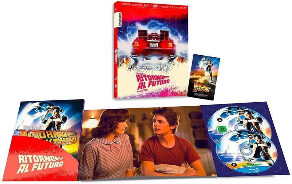 Ritorno al Futuro (1985) (I Numeri 1, Edizione Limitata, Blu-ray + DVD)
