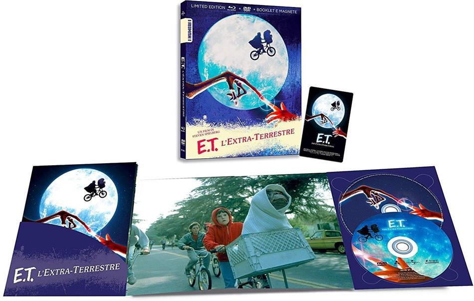 E.T. - L'extra-terrestre (1982) (I Numeri 1, Edizione Limitata, Blu-ray + DVD)