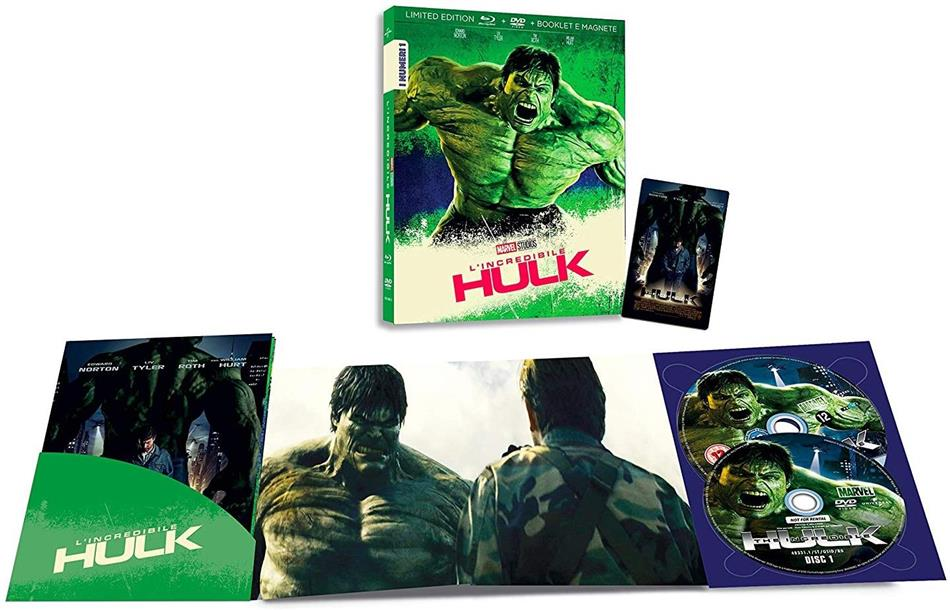L'Incredibile Hulk (2008) (I Numeri 1, Edizione Limitata, Blu-ray + DVD)