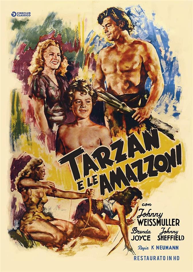 Tarzan e le amazzoni (1945) (Cineclub Classico, Restaurato in HD, n/b)