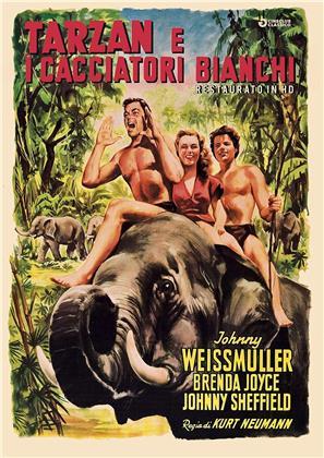 Tarzan e i cacciatori bianchi (1947) (Cineclub Classico, restaurato in HD, s/w)