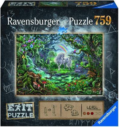 Exit Puzzle: Einhorn - 759 Teile Puzzle