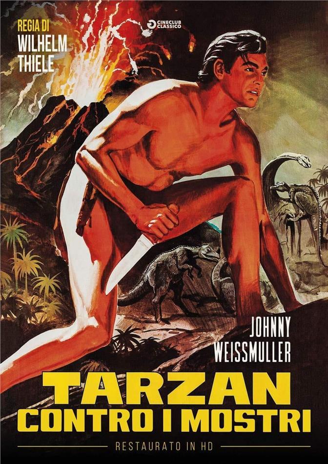 Tarzan contro i mostri (1943) (Cineclub Classico, restaurato in HD, s/w)