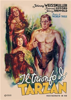 Il trionfo di Tarzan (1943) (Cineclub Classico, restaurato in HD, s/w)