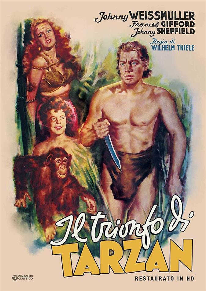 Il trionfo di Tarzan (1943) (Cineclub Classico, Restaurato in HD, n/b)