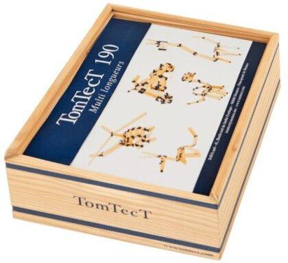 TomTecT - Konstruktions-Baukasten [190-teilig]