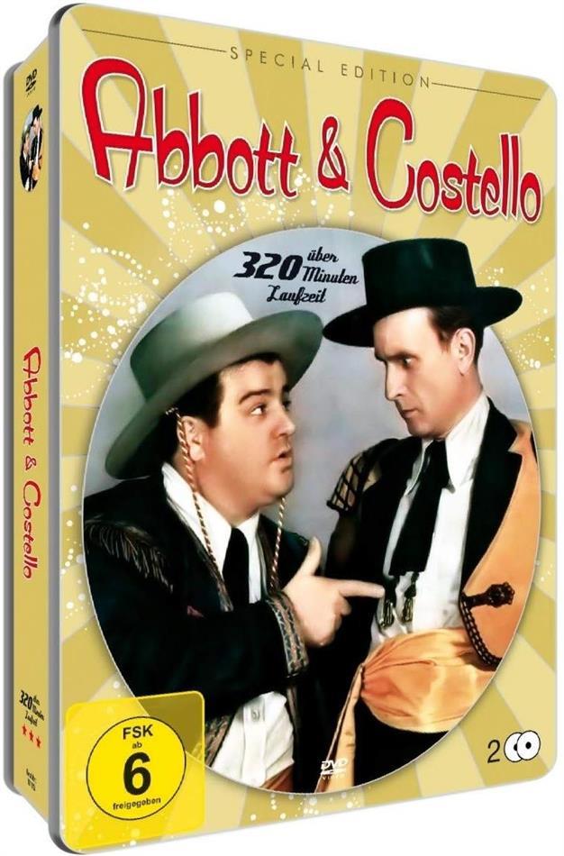 Abbott & Costello (Metallbox, Special Edition, 2 DVDs)