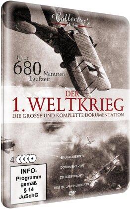 Der 1. Weltkrieg - Die grosse und komplette Dokumentation (Metallbox, 4 DVDs)