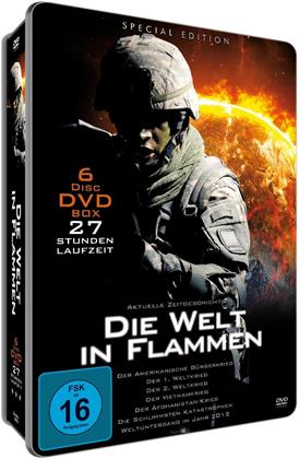 Die Welt in Flammen - Metallbox (Special Edition, 6 DVDs)