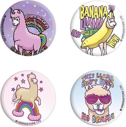 Llama Drama - Badge Pack