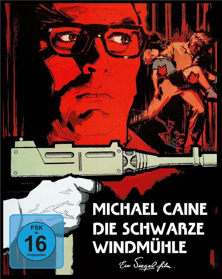 Die schwarze Windmühle (1974) (Cover B, Mediabook, Blu-ray + DVD)