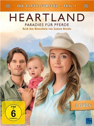Heartland - Paradies für Pferde - Staffel 11.1 (3 DVDs)
