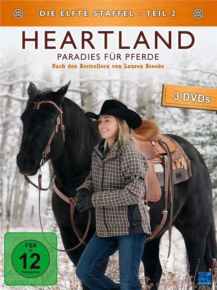 Heartland - Paradies für Pferde - Staffel 11.2 (3 DVDs)