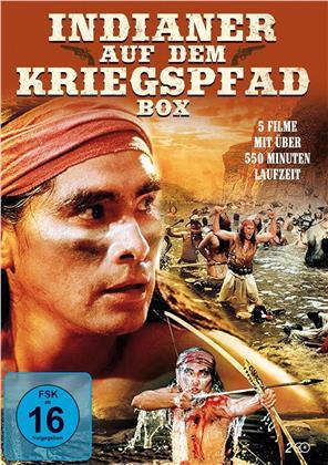 Indianer auf dem Kriegspfad Box - 5 Filme (2 DVDs)