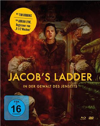 Jacob's Ladder - In der Gewalt des Jenseits (1990) (Mediabook, Blu-ray + DVD)