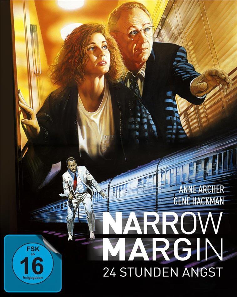 Narrow Margin - 12 Stunden Angst (1990) (Limited Edition, Mediabook, Blu-ray + DVD)