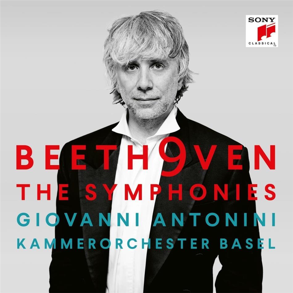 Ludwig van Beethoven (1770-1827), Giovanni Antonini & Kammerorchester Basel - Die Sinfonien (6 CDs)