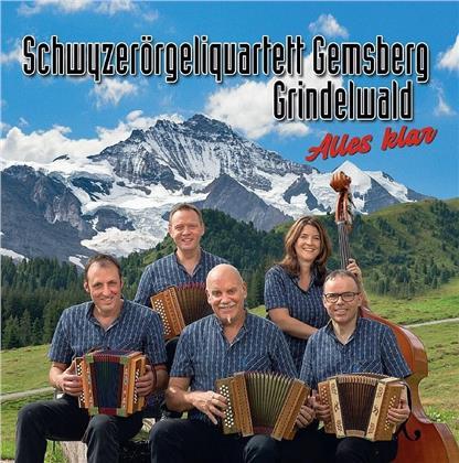 Schwyzerörgeliquartett Gemsberg Grindelwald - Alles klar