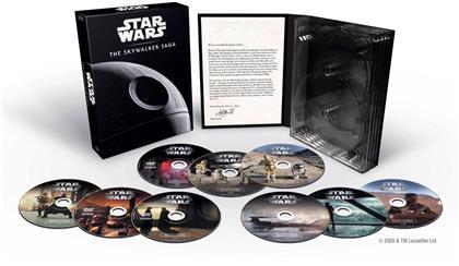 Star Wars: Episode 1-9 - Saga Skywalker (9 DVD)