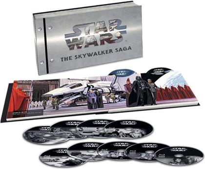 Star Wars: Episode 1-9 - The Skywalker Saga (9 4K Ultra HDs + 18 Blu-ray)