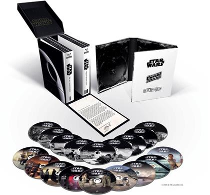 Star Wars: Episode 1-9 - The Skywalker Saga (18 Blu-ray)
