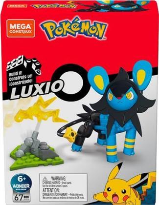 Mega Construx PK Luxio - Pokémon, Bauset, 67 Teile,