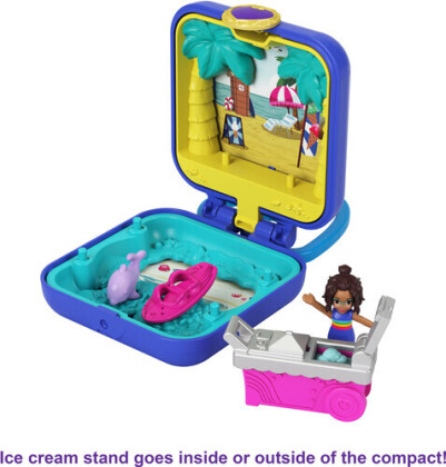 Polly Pocket Mini Shanis - Tropischer Strand