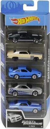 Hot Wheels - Hw Fast And Furious 5Pk