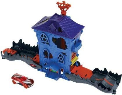 Hot Wheels - Hw City Nemesis Croc Mansion