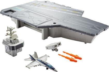 Matchbox Top Gun Flugzeug- - träger Spielset, ca. 10x6x22