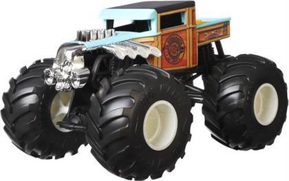 Hot Wheels Monster Trucks - Hw Monster Trucks 124 Bone Shaker