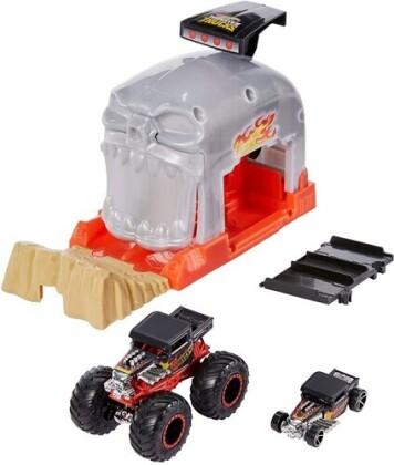 Hot Wheels Monster Trucks - Hw Monster Trucks Bone Shaker Launcher