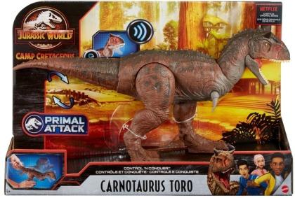 Jurassic World Control N Conquer Carnotaurus Toro