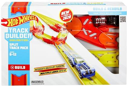 Hot Wheels Track Builder - Track Builder Unlimited Split Track Pack
