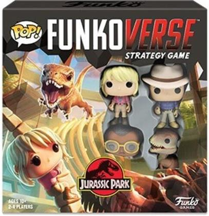 Funko Pop! Funkoverse: - Jurassic Park 100 - Strategy Game