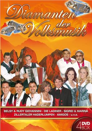 Various Artists - Diamanten der Volksmusik (4 DVDs)