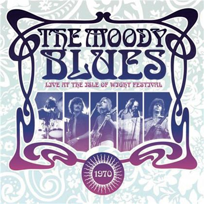 The Moody Blues - Live At The Isle Of Wight 1970 (2020 Reissue, Earmusic, 2 LPs)