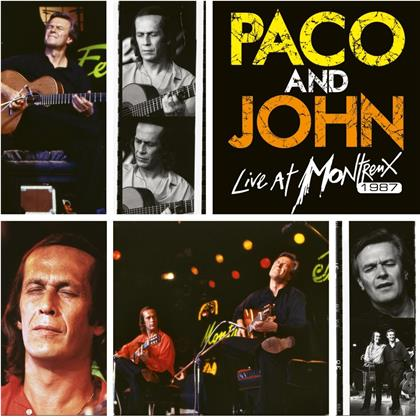 Paco De Lucia & John McLaughlin - Paco And John Live At Montreux (2020 Reissue, Earmusic, 2 LPs)