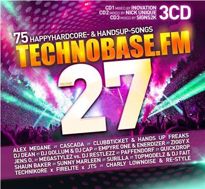 TechnoBase.FM Vol.27 (3 CDs)