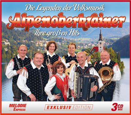 Alpenoberkrainer - Die Legenden der Volksmusik - Ihre großen Hits (3 CDs)