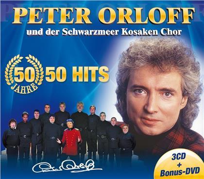 Peter Orloff und der Schwarzme - 50 Jahre - 50 Hits (CD + DVD)