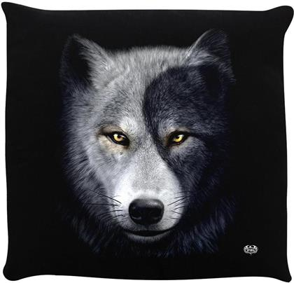 Spiral - Wolf Chi II - Cushion