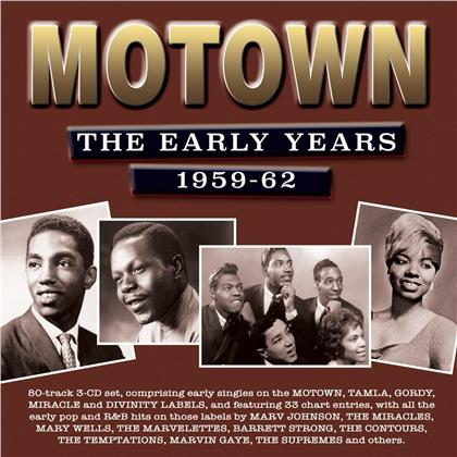 Motown: The Early Years 1959-1962 (Boxset)