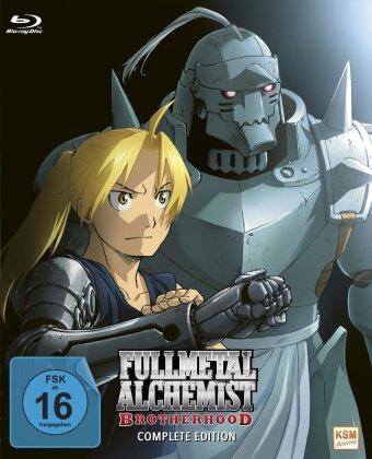 Fullmetal Alchemist: Brotherhood - Die komplette Serie (Alle Folgen + OVA) (9 Blu-rays)